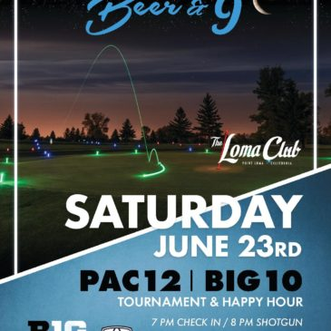 Glow Golf Tournament & Happy Hour
