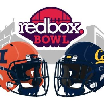 Redbox Bowl – Cal vs Illinois, Mon Dec 30